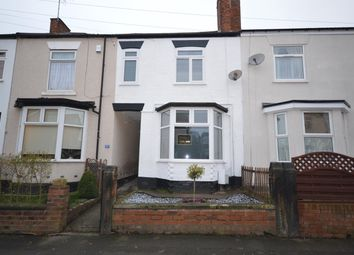 Thumbnail 4 bed terraced house for sale in Fairfield Road, Chesterfield