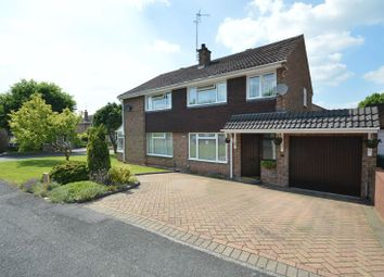 Thumbnail 3 bed semi-detached house for sale in Ansley Close, Redditch