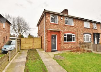 Thumbnail 3 bed semi-detached house for sale in Hallsworth Road, Eccles, Manchester