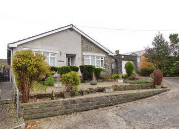 Thumbnail 3 bed detached bungalow for sale in John Street, Cefn Cribwr, Bridgend.