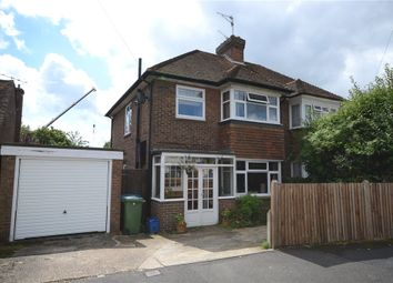 Thumbnail 3 bedroom semi-detached house for sale in Southmead Road, Aldershot, Hampshire