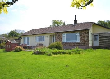 Thumbnail 5 bed detached bungalow for sale in Coxpark, Gunnislake, Cornwall