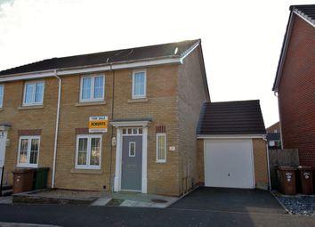 Thumbnail 3 bed semi-detached house for sale in Woodside Drive, Newbridge, Newport