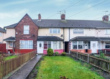 Thumbnail 2 bed terraced house for sale in Cranbrook Avenue, Hull