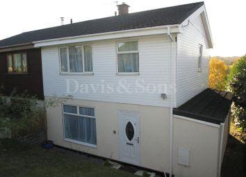 Thumbnail 3 bedroom semi-detached house for sale in Keir Hardie Terrace, Swffryd Crumlin, Newport, Gwent.