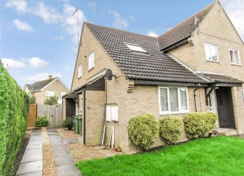 Thumbnail 1 bed terraced house to rent in Stanch Hill Road, Sawtry, Huntingdon, Cambridgeshire