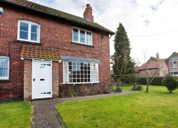 Thumbnail 2 bed semi-detached house to rent in Main Street, Wheldrake