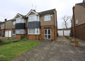 Thumbnail 3 bedroom semi-detached house for sale in Elgin Road, Cheshunt, Hertfordshire