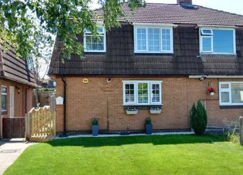 Thumbnail 2 bed semi-detached house for sale in Le Haunche Close, Keresley End, Coventry, Warwickshire