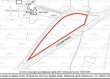 Thumbnail Land for sale in Mill Farm, Old Litcham Road, Mileham, King's Lynn, Norfolk