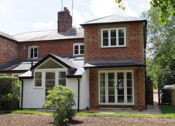 Thumbnail 3 bed semi-detached house to rent in Pankridge Street, Crondall, Farnham