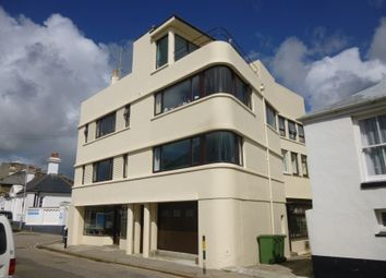 Thumbnail 1 bed flat to rent in Queen Street, Penzance