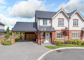 Thumbnail 3 bed semi-detached house for sale in Tilston, Malpas, Cheshire