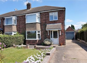 Thumbnail 3 bed semi-detached house for sale in Ingham Close, Lincoln