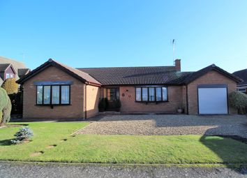 Thumbnail 2 bed detached bungalow for sale in Mulberry Way, Spalding, Lincolnshire
