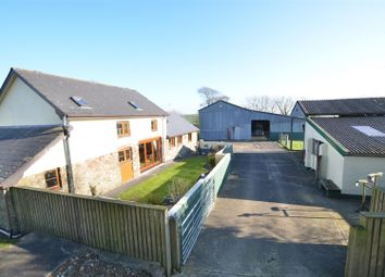 Thumbnail 3 bed equestrian property for sale in Buckland Brewer, Bideford