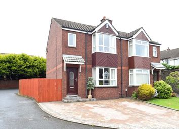 Thumbnail 3 bed semi-detached house for sale in Glendhu Manor, Belmont, Belfast