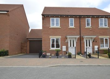 Thumbnail 3 bed semi-detached house for sale in Lapwing Drive, Bishops Cleeve