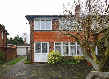 Thumbnail 3 bed semi-detached house to rent in Stanley Road, Teddington