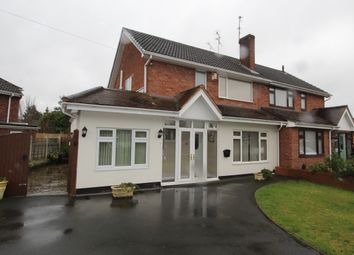 Thumbnail 4 bed semi-detached house to rent in Taunton Avenue, Wolverhampton