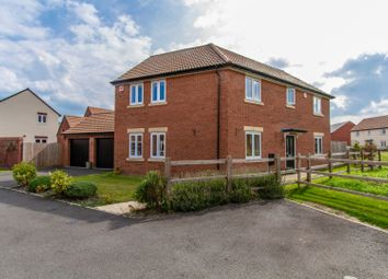 Thumbnail 4 bed detached house for sale in Lime Avenue, Sapcote