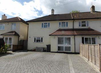 Thumbnail 3 bed semi-detached house for sale in Farnborough Avenue, South Croydon, Surrey