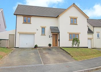Thumbnail 4 bed detached house for sale in Meadow Park, Shebbear, Beaworthy