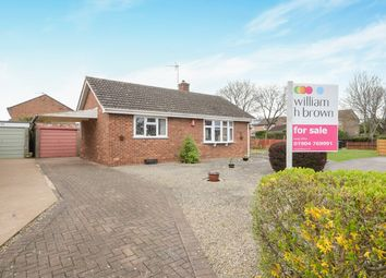 Thumbnail 2 bed detached bungalow for sale in Hornsey Garth, Wigginton, York