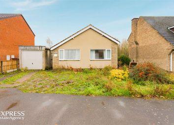Thumbnail 3 bed detached bungalow for sale in The Crest, Linton, Swadlincote, Derbyshire