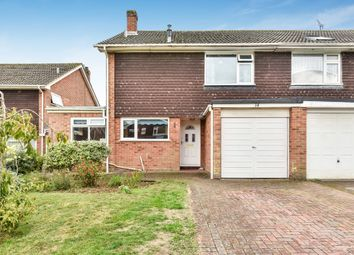 Thumbnail 4 bed semi-detached house for sale in Grayshott Close, Harestock, Winchester