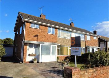 Thumbnail 4 bed semi-detached house for sale in Alinora Avenue, Goring-By-Sea, Worthing
