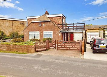Thumbnail 3 bed bungalow for sale in Old Dover Road, Capel-Le-Ferne, Folkestone, Kent