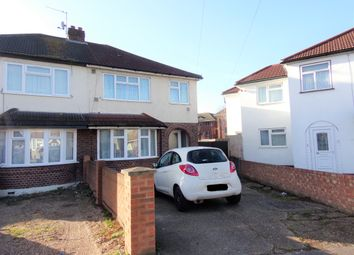 Thumbnail 3 bed semi-detached house to rent in Doghurst Avenue, Hayes