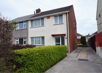 Thumbnail 3 bed semi-detached house for sale in Hawthorn Avenue, Gorseinon