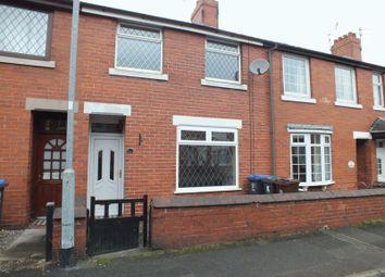 Thumbnail 2 bed terraced house to rent in John Street, Biddulph, Stoke-On-Trent