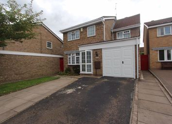 Thumbnail 4 bed detached house to rent in Pendlebury Drive, West Knighton, Leicester