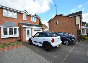 Thumbnail 3 bedroom property for sale in Rockley Close, Hucknall, Nottingham