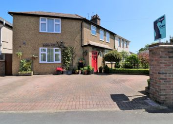 Thumbnail 4 bed semi-detached house for sale in Well Lane, Horsell, Woking