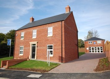 Thumbnail 4 bed detached house for sale in Plot 1 Alexander Park, Legbourne Road, Louth