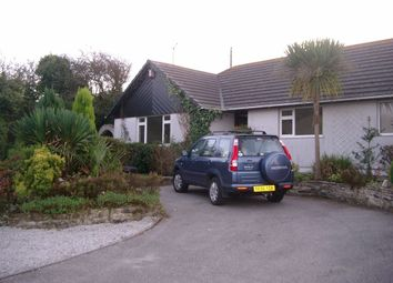 Thumbnail 4 bed detached bungalow to rent in Wheal Butson Road, St. Agnes