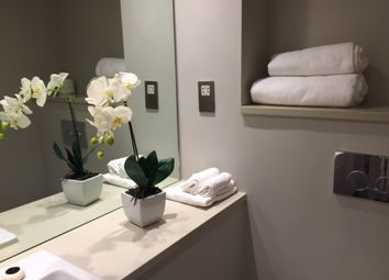 Thumbnail 1 bed flat to rent in Pontoon Dock, London