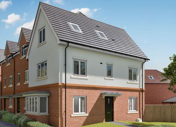 """Thumbnail 3 bed end terrace house for sale in """"The Hazel"""" at Hyde End Road, Shinfield, Reading"""