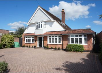 Thumbnail 4 bed detached house for sale in Barton Court Avenue, Barton On Sea