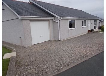 Thumbnail 3 bed detached bungalow for sale in Heol Y Wal, Newborough