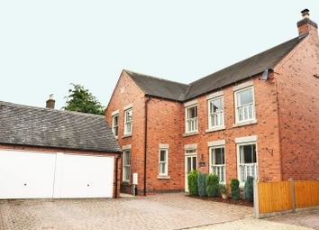 Thumbnail 6 bed detached house for sale in Main Street, Osgathorpe