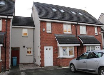 Thumbnail 3 bedroom town house to rent in Millgate Crescent, Caldercruix, Airdrie