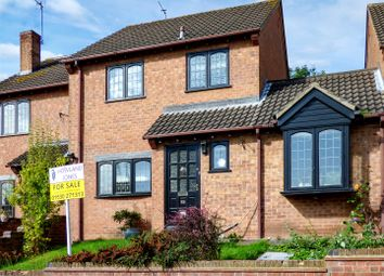 Thumbnail 3 bed terraced house for sale in Chapel Rise, Worthington, Ashby-De-La-Zouch