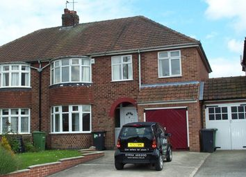 Thumbnail 5 bedroom semi-detached house to rent in Florence Grove, York