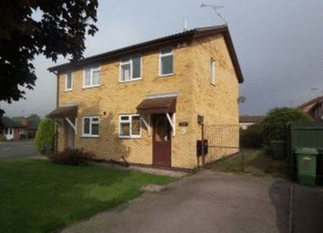 Thumbnail 2 bed semi-detached house to rent in The Fieldway, Broughton Astley, Leicester