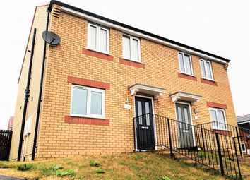 Thumbnail 3 bed semi-detached house for sale in Viscount Close, Stanley, County Durham